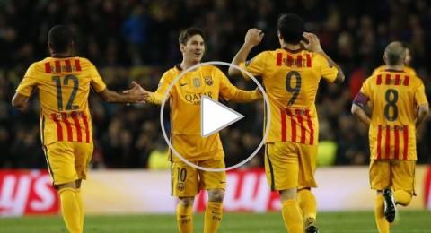 سواريز يقود برشلونة لقلب الطاولة على أتلتيكو في ربع نهائي الأبطال