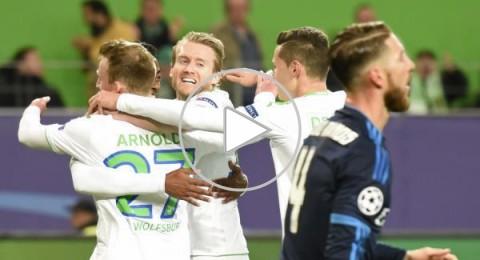 فولفسبورج يحقق انتصار تاريخي على ريال مدريد