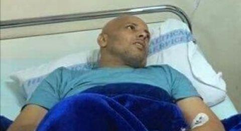 تدهور كبير يطرق على الوضع الصحي للمُحرر محمد بشارات المُصاب بالسرطان