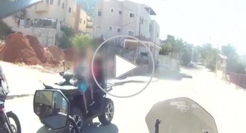 الشبلي: الشرطة توقف فتى واخيه (11 عاما،و7اعوام) يقودان