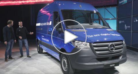 مرسيدس تطلق نسخة كهربائية من شاحنات