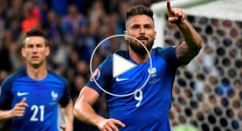 يورو 2016: فرنسا تنهي مغامرة ايسلندا بخماسية وتواجه ألمانيا في المربع الذهبي