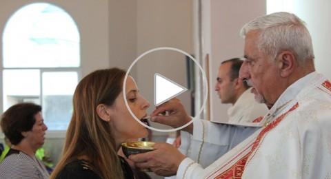 رعية مار مارون في الجش تحتفل بعيد التجلي