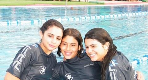 يوم رياضي لدعم السباح بشار حلبي