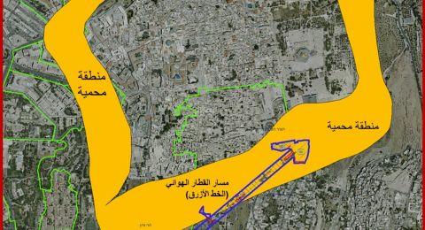أبو دياب يحذر من تبعات مشروع القطار الهوائي في القدس