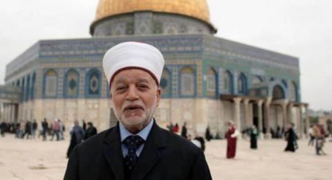 مفتي فلسطين يحذر من تعيين