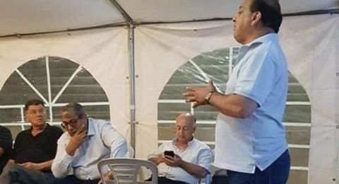 الطيرة: البلدية تفتتح خيمة اعتصام ضد مضايقة اصحاب المصالح التجارية