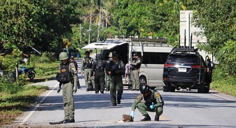 مقتل 15 شخصا بهجوم جنوبي تايلاند