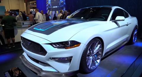 فورد تكشف عن Mustang الكهربائية بقدرات جبارة!