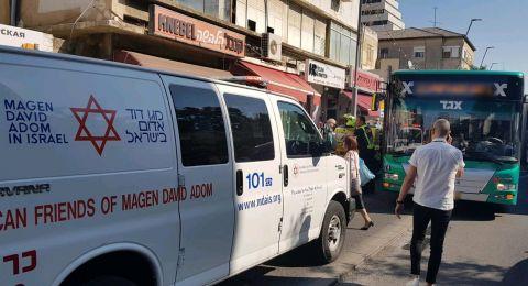 حيفا: إصابة خطيرة لشابة اثر تعرضها للدهس
