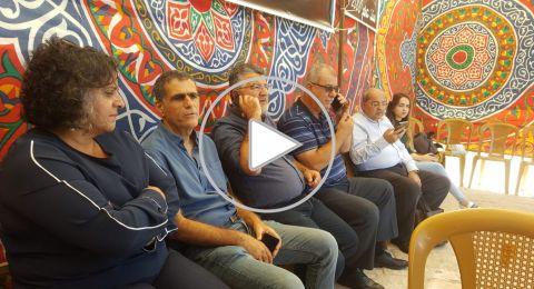 من خيمة الاعتصام في القدس، بركة لـ