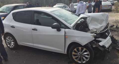 معاوية: حادث طرق يؤدي الى عدد من الاصابات