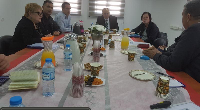 شموئيل أبواب ، يزور 6 مراكز لتطوير كوادر التّعليم ومنها في الوسط العربي في النّاصرة وفي باقة الغربيّة