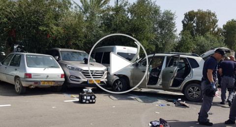 عكا: دهس شرطي وجنديين واطلاق النار تجاه سائق السيارة