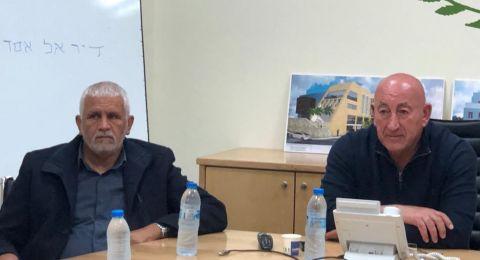 جلسة طارئة في مجلس دير الأسد وإعلان الإضراب غدًا