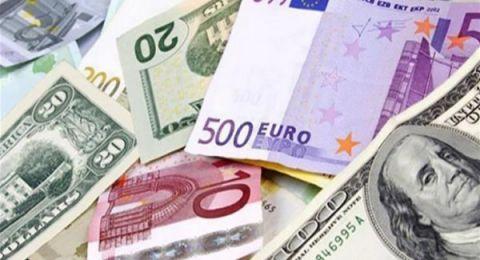 اسعار العملات: استقرار الدولار أمام الشيكل