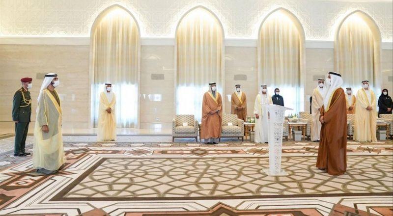 السفير الإماراتي يصل تل أبيب