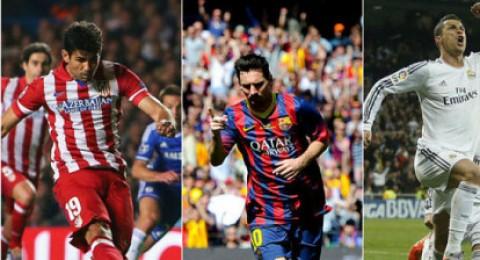 الاحتمالات الكاملة لفرق الصدارة للفوز بالدوري الاسباني
