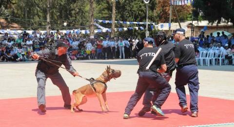 فعاليات في اكاديمية الشرطة