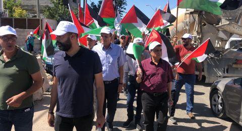 الأولى من نوعها.. مسيرة أعلام فلسطينية في الـ 48
