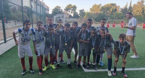 وزير الثقافة والرياضة حيلي توبر يكرم أبطال دورة كرة القدم من الجماهيري طوبا الزنغرية