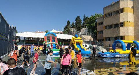 الناصرة: يوم رياضي مميز، يوم فرحة وسعادة بمدرسة إبراهيم طوقان