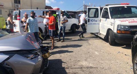 شفاعمرو: حادث طرق وعدة اصابات متفاوتة