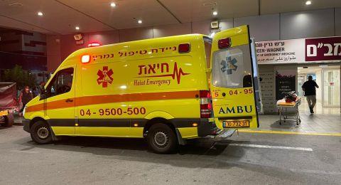 كفرياسيف: حادث طرق و-4 اصابات بينهم اصابة خطرة لفتاة (14 عاما)