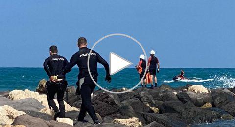 أعمال البحث مستمرة عن فتى فُقدت أثاره في شاطئ