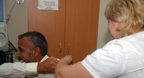 في النقب: التطعيم ضد شلل الأطفال مستمر