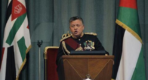 ملك الأردن يشيد بنخوة نشامى قوات الدرك
