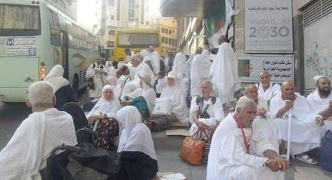 """احتواء """"أزمة سكن"""" لـ380 حاجًا جزائريًا في السعودية"""