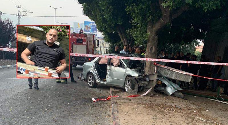 يوسف بيادسة هو ضحية حادثة الطرق في باقة الغربية