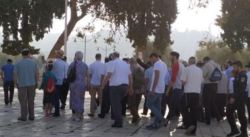 اقتحام الأقصى- مطالبات متطرفة بإغلاق الأقصى أول يوم عيد الأضحى