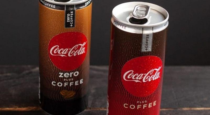 كوكا كولا تعرض لأول مرة في البلاد Coca-Cola Plus Coffee - Coca-Cola Zero Plus Coffee