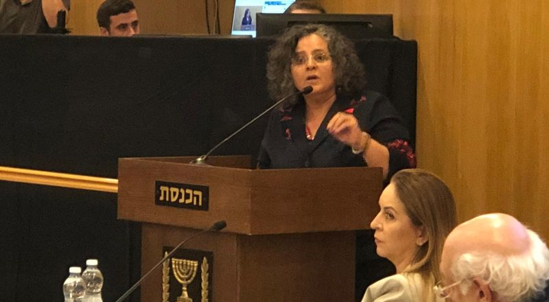 توما-سليمان امام لجنة الانتخابات: نتنياهو يستهدف الصوت العربي
