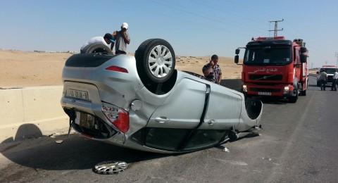 اريحا: مصرع مواطن واصابة اخر في حادث طرق