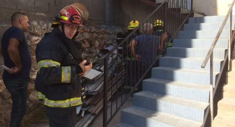 مجدالكروم: حريق في أحد المنازل يخلف أضرارا