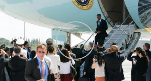 استقبال مهين لـ أوباما في قمة العشرين بالصين