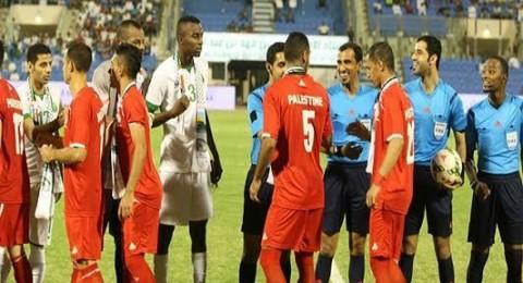 الفيفا تقرر تأجيل مباراة المنتخب الفلسطيني ونظيره السعودي