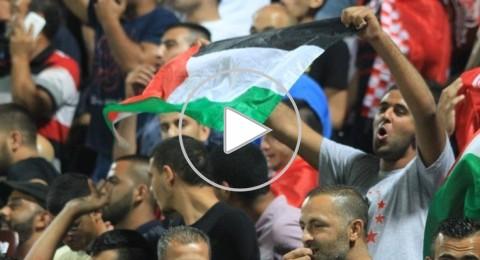الجماهير السخنينية تثبت وحدة الشارع العربي رغم الخسارة