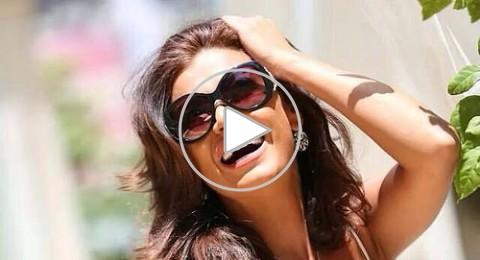 نادين الراسي تغني لوائل كفوري من داخل السيارة
