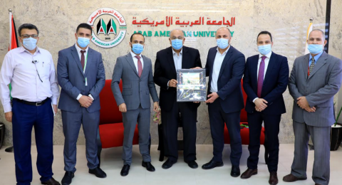 جوال تبارك للجامعة العربية الامريكية مرور 20 عاماً على تأسيسها