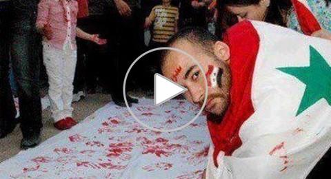 تشييع جثمان الفنان السوري محمد رافع الى مثواه الاخير