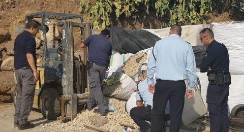 طبريا: العثور على جثة في مخزن تابع لشركة زراعية