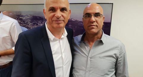 بئر المكسور: رئيس المجلس الجديد، خالد حجيرات يلتقي بوزير المالية، كحلون