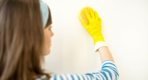 التدبير المنزلي: خطوات تنظيف الجدران