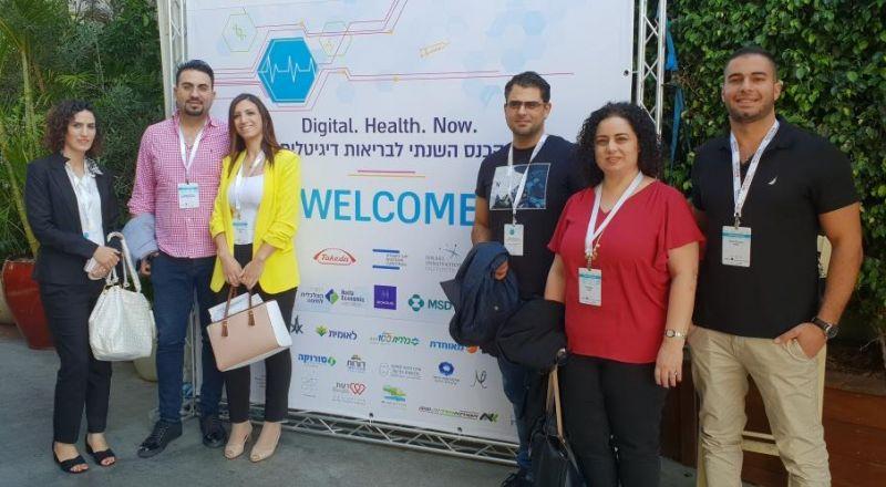 فخر للمؤسّسات الطبيّة في النّاصرة: مستشفى النّاصرة- الإنجليزي يشارك في مؤتمر الصّحة الرّقميّة في تل ابيب