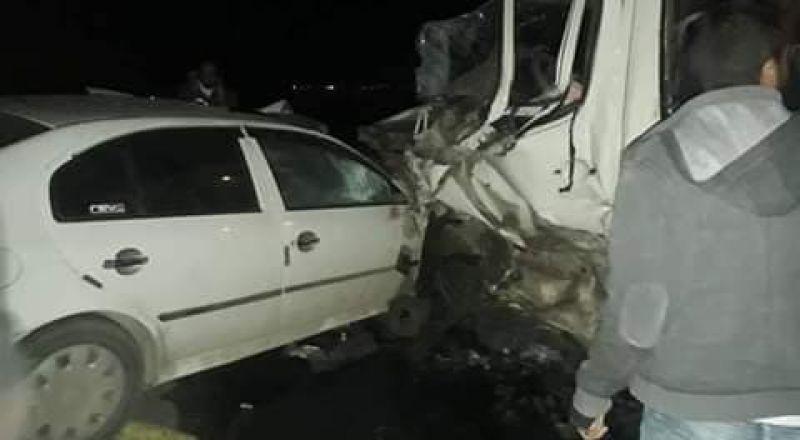 كارثة: مصرع شاب واصابة 19 بحادث مروع في الضفة الغربية