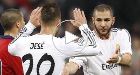ريال مدريد يتغلب على اوساسونا في كأس الملك